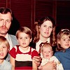 Christmas 1983<br /> The Freckleton family<br /> L to R--Christopher, Mark, Steffan, Tristan, Joann, Ami