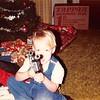 Christmas 1983<br /> 262 Marich Way, Los Altos, CA<br /> Craig (3) showing his new Star Wars laser pistol
