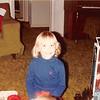 Dec. 25, 1983<br /> 262 Marich Way, Los Altos, CA<br /> Teresa (almost 5) on Christmas day
