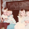 April 1984<br /> Maarti and Kent's house in Sunnyvale, CA<br /> L to R--Ryan (4), Craig (3), Teresa (5) and Darsi (1 1/2)