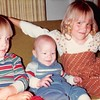 April 1984<br /> 262 Marich Way, Los Altos, CA<br /> Craig (3), Benjamin (3 mths.) and Teresa (5)