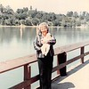 April 1984<br /> Vasona Lake (near Los Gatos, CA)<br /> Mom M. holding Benjamin (2 1/2 mths.)