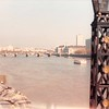 April 1, 1990<br /> London, England<br /> view of London Bridge (from the Tower Bridge on the tour bus)