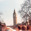 April 1, 1990<br /> London, England<br /> Big Ben (view from tour bus)