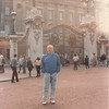 April 1, 1990<br /> London, England<br /> Bob in front of Buckingham Palace