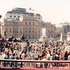 April 1, 1990<br /> London, England<br /> Canadian embassy <br /> Trafalga Square (?) from tour bus