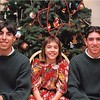 Christmas 1997<br /> Chris, Daniel, and Julia Singleton