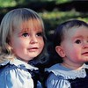 Christmas 1997<br /> Talliya and Dariya Eyring-Smith