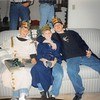 "12-24-97<br /> Allen's home<br /> Brent Allen, Daniel and Craig (the 3 wise ""guys"")"
