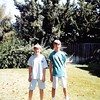 8-98<br /> 262 Marich Way, Los Altos<br /> Daniel and Brent just before they moved