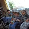 4-99<br /> 262 Marich Way, Los Altos<br /> Steven's birthday party<br /> Bradley, Taylor, Steven, and Neal
