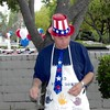 7-4-01<br /> Los Altos ward breakfast<br /> Bob (playing his role as cook--since he's the bishop)