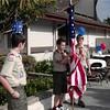 7-4-01<br /> Flag ceremony at Los Altos ward breakfast<br /> Alex Wheatley, Tanner Rhodes and Daniel (13)