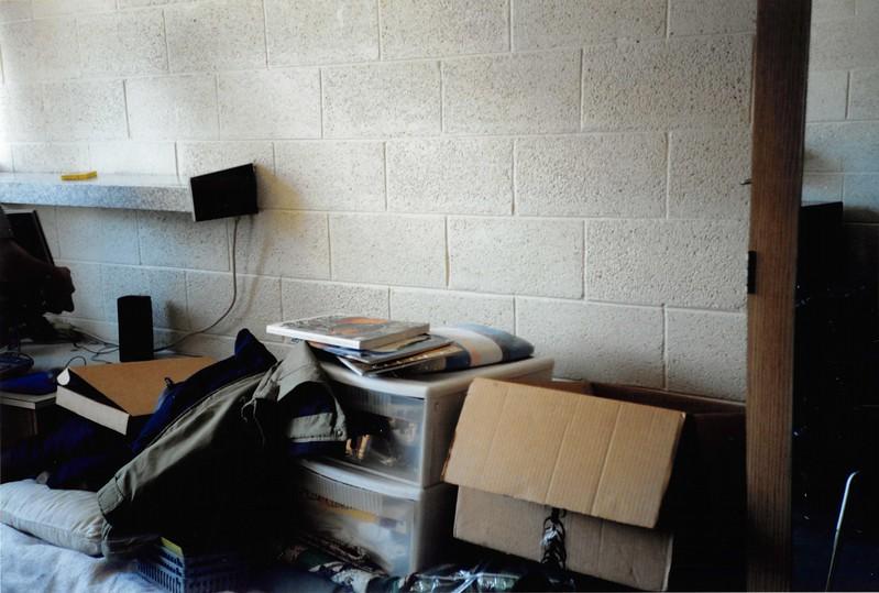 May 2003--Packing Ben's dorm at SUU