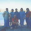7-03 Los Altos stake girl's camp<br /> hike to Blue Lake<br /> Pat Jocius, MaryAnne Norling, Patti Evans, Bobbie Young, me and Marta Moritsen