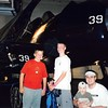 """8-03  """"Intrepid""""  museum (former aircraft carrier) in NYC<br /> Steven, Daniel, Tyson and Frank"""