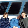 1-05<br /> me, Steven, & Daniel on whale watching trip