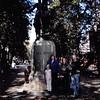10-11-04<br /> Statue along Freedom trail<br /> Sarah, Janean, Rachel, Nathan