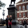 10-11-04<br /> Fanueil Hall, Boston<br /> Janean and Jeremy