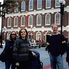 10-11-04<br /> Faneuil Hall, Boston, MA<br /> Susie, Rachel, Nathan and Laurie