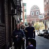 10-11-04<br /> Walking the Freedom Trail<br /> Rachel, Janean and Nathan