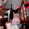 November 1981<br /> 144-D Escondido Village, Stanford, CA<br /> Craig (11 months) and Teresa (2 1/2)