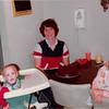 Nov. 23, 1981<br /> 144-D Escondido Village, Stanford, CA<br /> Craig's first birthday.<br /> Craig (1), me & Teresa (2 1/2)