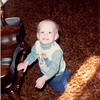 October 1981<br /> 144-D Escondido Village, Stanford, CA<br /> Craig (11 months)