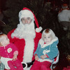 Dec. 1981<br /> Palo Alto 1st ward Christmas party<br /> Craig (one yr.), Sant, and Teresa (2 1/2)