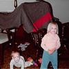 November 1981<br /> 144-D Escondido Village, Stanford, CA<br /> Craig (11 months) and Teresa (2 1/2)