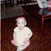 November 1981<br /> 144-D Escondido Village, Stanford, CA<br /> Craig (11 months)