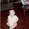 November 1981<br /> 144-D Escondido Village, Stanford, CA<br /> Craig (11 months)