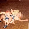 August 1981<br /> 1484 S. 400 E. Orem, UT<br /> Craig (8 months) & Teresa (2 1/2)
