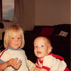 August 1981<br /> 1484 S. 400 E. Orem, UT<br /> Teresa (2 1/2) & Craig (8 months)