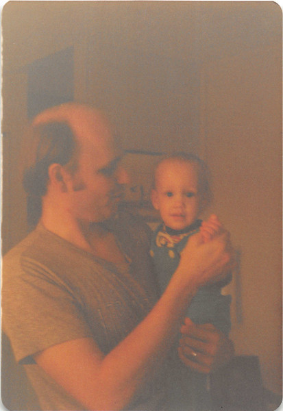 Dec. 1981<br /> 144-D Escondido Village, Stanford, CA<br /> Bob & Craig (one yr.)