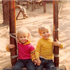 Dec. 1981<br /> Knott's Berry Farm, Southern Cal.<br /> Teresa & Wes (Cardall)