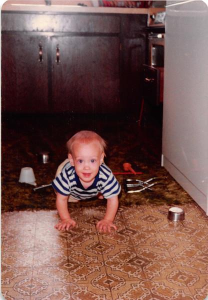 August 1981<br /> 1484 S. 400 E. Orem, UT<br /> Craig (9 months)