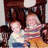 October 1981<br /> 144-D Escondido Village, Stanford, CA<br /> Craig (11 months) & Teresa (2 1/2 yrs.)