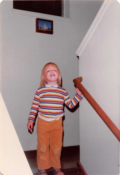 November 1981<br /> 144-D Escondido Village, Stanford, CA<br /> Teresa (2 1/2 yrs.)