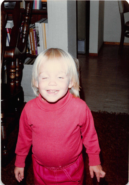 October 1981<br /> 144-D Escondido Village, Stanford, CA<br /> Teresa (2 1/2 yrs.)