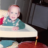 Nov. 23, 1981<br /> 144-D Escondido Village, Stanford, CA<br /> Craig's first birthday.