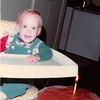 Nov. 23, 1981<br /> 144-D Escondido Village, Stanford, CA<br /> Craig's first birthday.