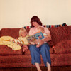 August 1981<br /> 1484 S. 400 E. Orem, UT<br /> Teresa (2 1/2), mommy & Craig (8 months) reading books.