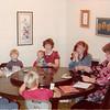 Nov. 1981<br /> Thanksgiving day<br /> 262 Marich Way, Los Altos, CA<br /> R to L - Kevin, Jared, Micheal, Craig, me, Kimberly, Jill playing Mormon bridge.