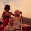 July 1981<br /> 1484 S. 400 E., Orem, UT<br /> Becky Olson, Craig (8 months) & Teresa (2 1/2).