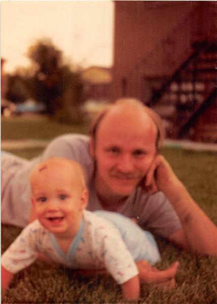 July 1981<br /> 1484 S. 400 E., Orem, UT<br /> Craig (8 months) & Bob