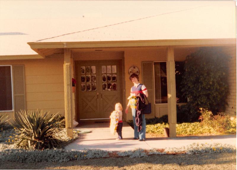 Dec. 1981<br /> Mom & Dad Meakin's home in Phoenix, AZ<br /> Teresa & mommy