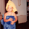 August 1981<br /> 1484 S. 400 E. Orem, UT<br /> Teresa (2 1/2) after her bath (she wanted to look like mommy after mommy showers).