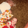 August 1981<br /> 1484 S. 400 E. Orem, UT<br /> Teresa (2 1/2 yrs.) & Craig (8 months)