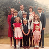 Christmas 1981<br /> Bruce & Ginny Richardson family<br /> Michele (15), David (14), Nathan (13), Daniel (almost 11)), Elizabeth (9), Sarah (7), Matthew (5), Michael (2), Rebecca (2 months)